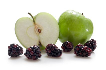 Apples and blackberries - are all crumbles equal?